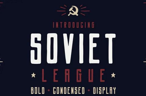 Soviet League Typeface Free