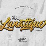 The Lunatique Script Font Free