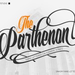 The Parthenon Script Font Free