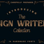 The Sign Writer Typeface Free