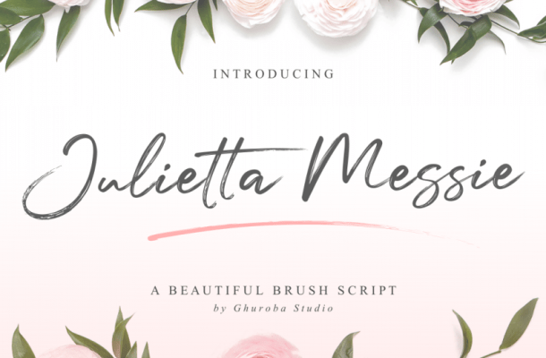 Julietta Messie Brush Script Font