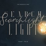 Searchlight Font Trio Free