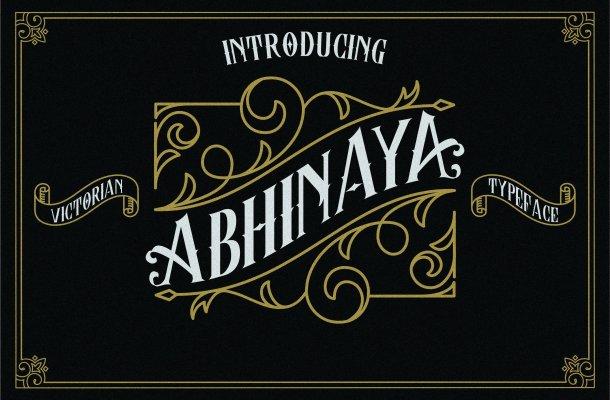 Abhinaya Typeface Free