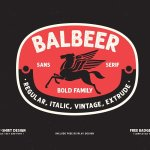 Balbeer Font Family Free