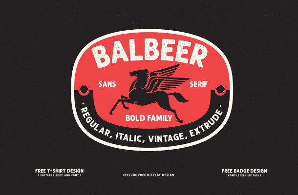 Balbeer Font Family Free