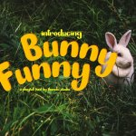 Bunny Funny Playfull Font