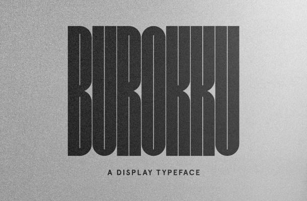 Burokku Typeface Free
