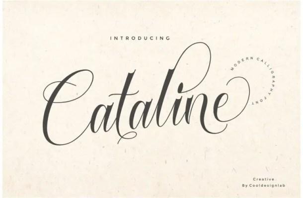 Cataline Script Font Free