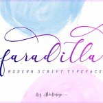 Faradilla Script Font Free