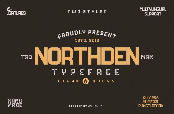 Northden Typeface Free