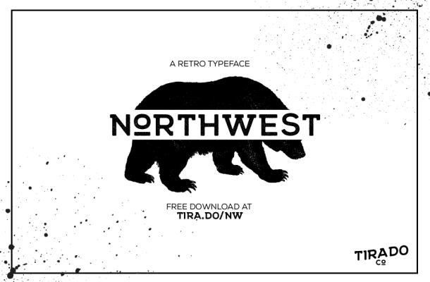 Northwest Typeface Free