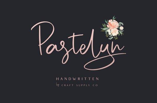 Pastelyn Handwritten Font Free