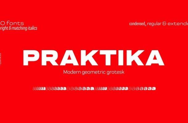Praktika Font Family Free