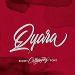 Qyara Calligraphy Font Free