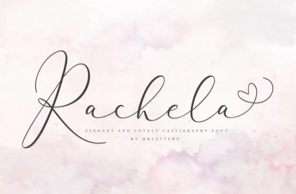 Rachela Script Font Free