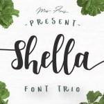 Shella Script Font Free