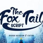 The Fox Tail Script Font