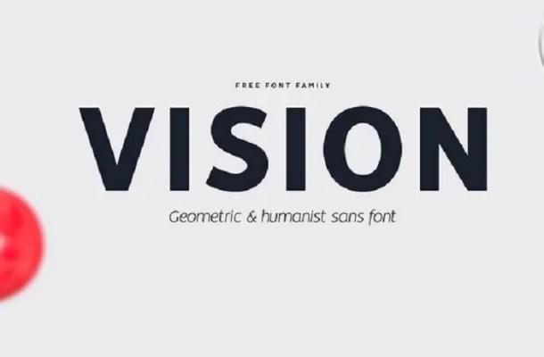 Vision Sans Font Family