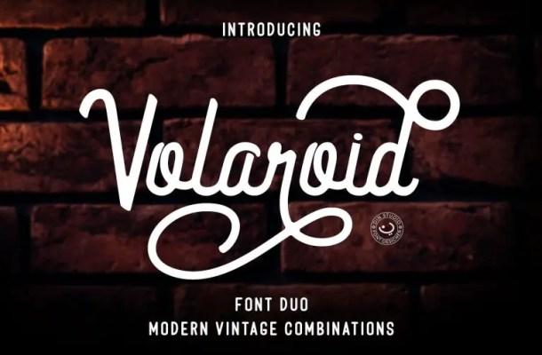 Volaroid Font Duo Free