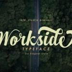 Workside Script Font Free
