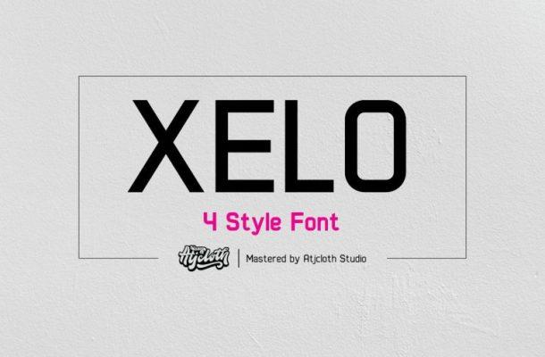 Xelo Sans Serif Font Free