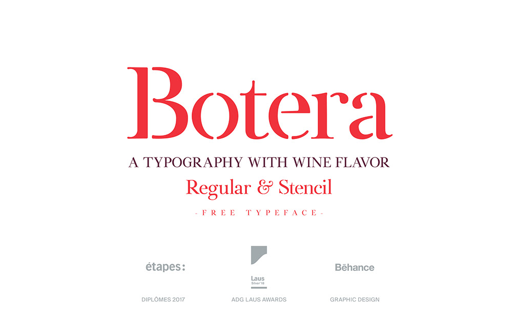Botera Serif Typeface-1