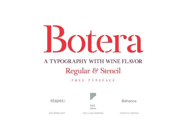 Botera Serif Typeface