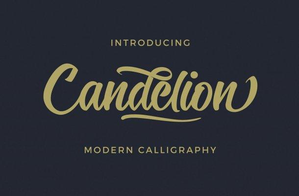 Candelion Script Font Free