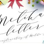 Melika Script Font Free