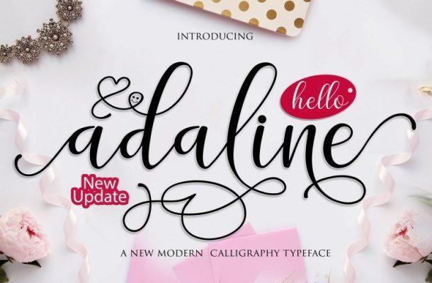 Adaline Script Font Free