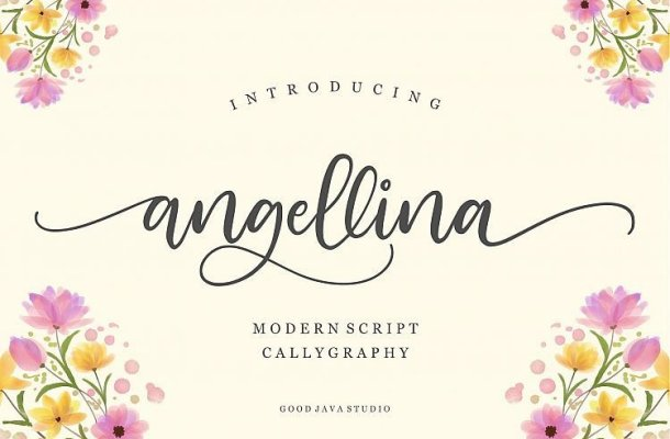 Angellina Script Font Free