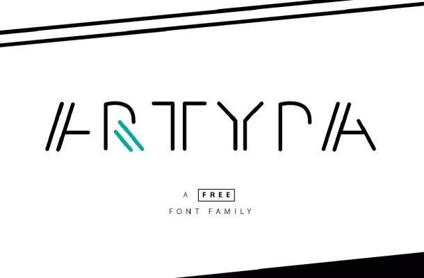 Artypa Font Family Free