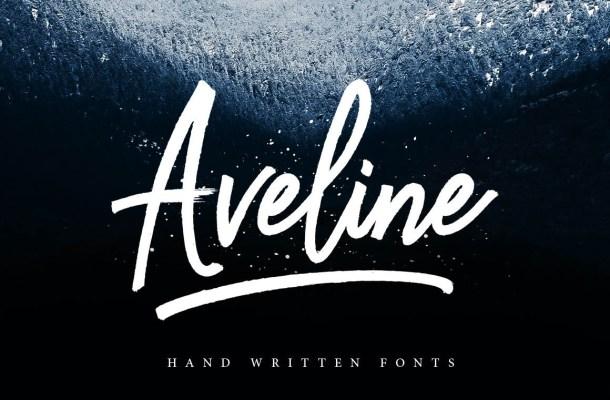 Aveline Script Font Free