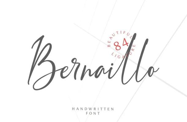 Bernaillo Script Font Free