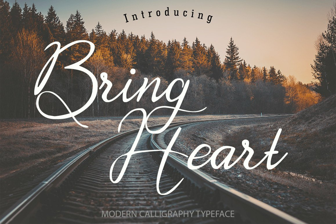 bring-heart-script-font