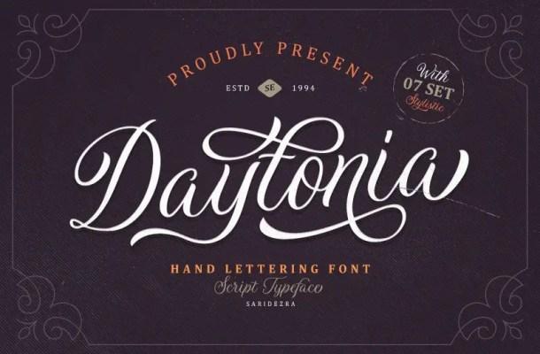 Daytonia Script Font Free