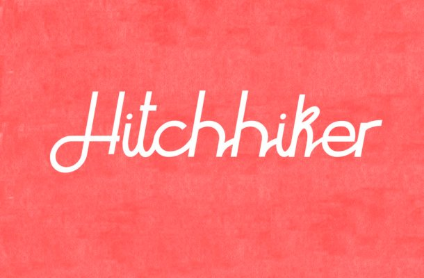 Hitchhiker Typeface Free