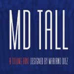 MD Tall Typeface Free