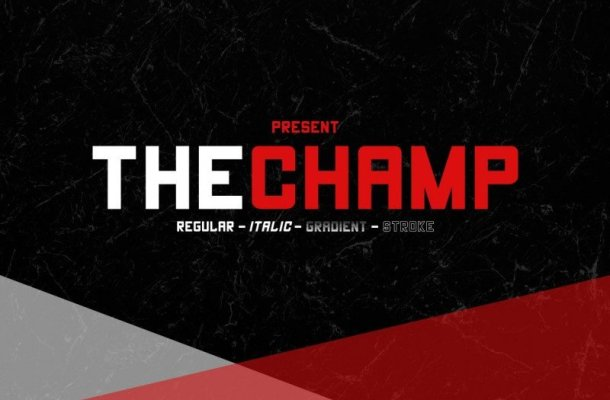 The Champ Font Free