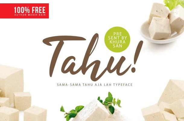 Tahu! Script Font Free