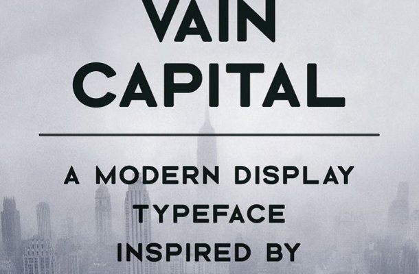 Vain Capital Typeface Free
