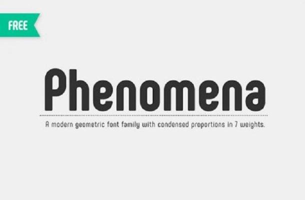 Phenomena Font Free