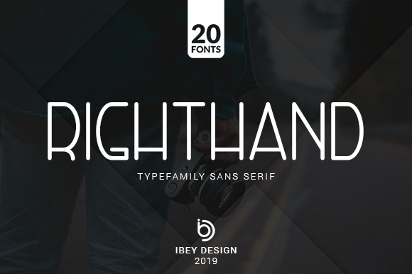 Right Hand Font Family Free