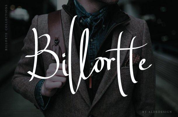 Billortte Script Font Free