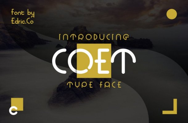 COET Font Family Free