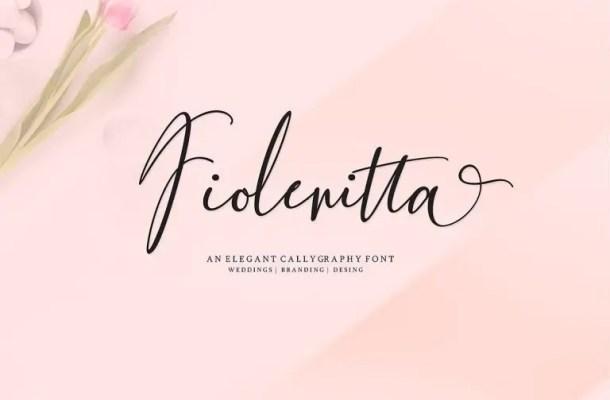 Fiolenitta Script Font Free