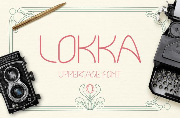 Lokka Typeface Free