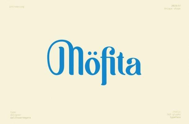 Möfita Display Font Free