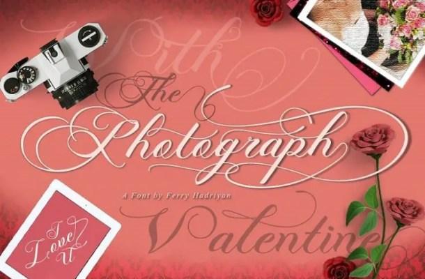 Photograph Script Wing Font