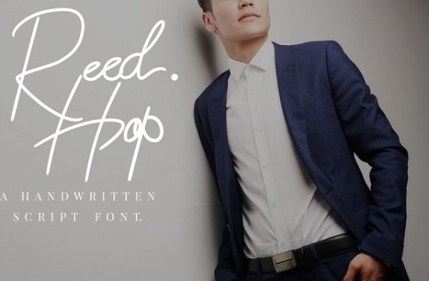 Reed Hop Handwriting Font